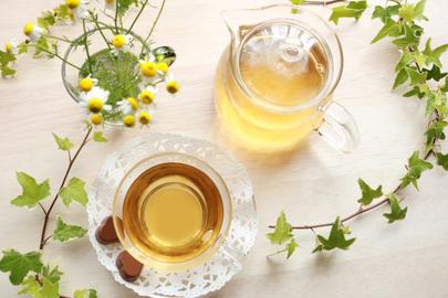 朝のバタートースト。