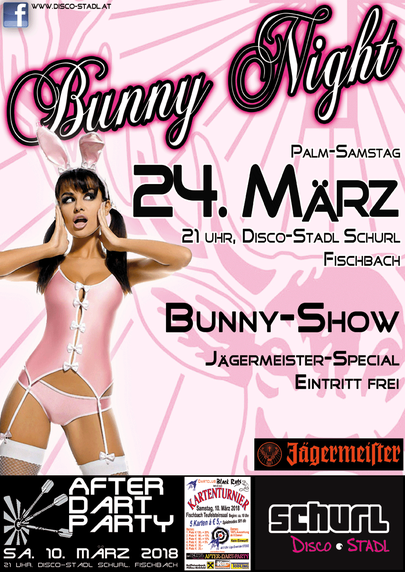 plakat bunny night 2017
