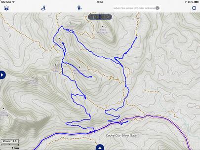 Goose Lake Trail und Umgebung