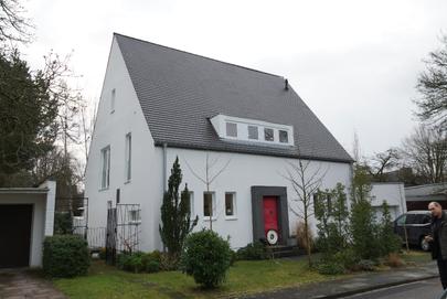 BlowerDoor Test Einfamilienhaus Luftdichtheit Gebäudedichtheit