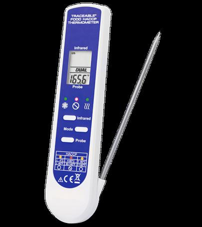 Termómetro digital para alimentos con certificado trazable a NIST 4364