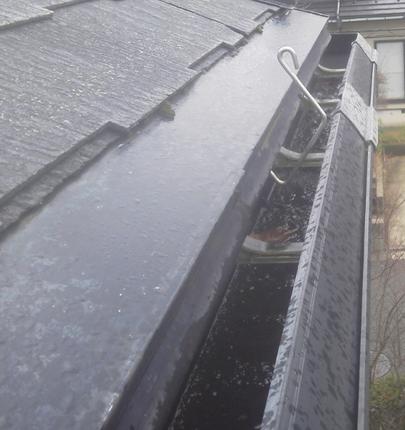 雨どい掃除 施工後