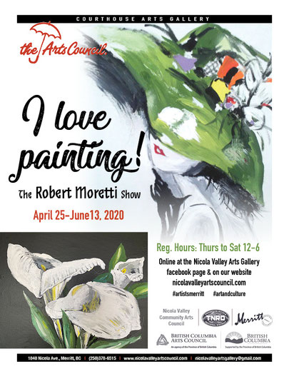 Nicola Valley Community Arts Show Robert Moretti
