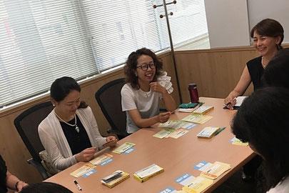 ウーマンステーション,市川真由美,銀座,お金のカードゲーム,お金,セミナー,女性