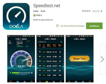 handy app internetgeschwindigkeit