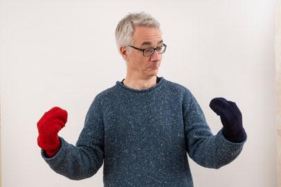 Socken müssen nicht nur ernst sein.