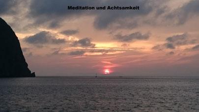 Meditative Stimmung in der Andamanen See