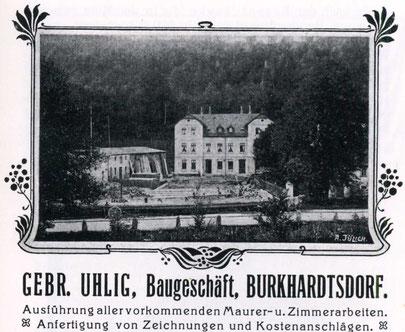 Quelle: Bildarchiv der Gemeinde Burkhardtsdorf