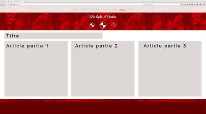 Projet de distribution de la page sur un grand écran