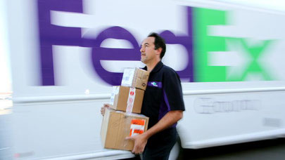 FedEx also targets retail  -  company courtesy
