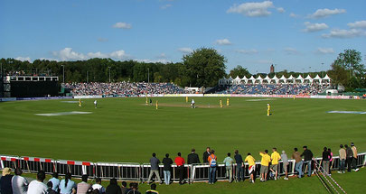 The VRA cricket ground in Amsterdam