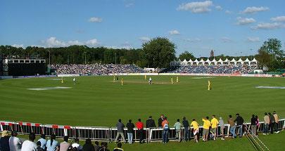 The VRA cricket ground in Amsterdam