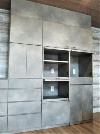 収納扉 整理収納 オーダー家具 キッチン収納