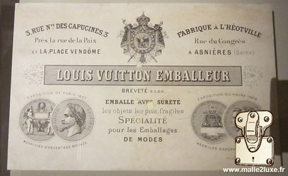 Nouvelle boutique 3 rue nouvelles des capucines malle Louis Vuitton