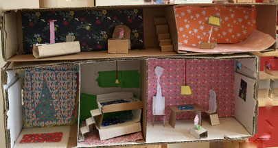 Auch einige Kinder aus unserer Baugruppe planen schon fleißig ihr neues Zuhause