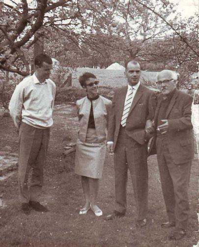 C.W. mit seinen Kindern