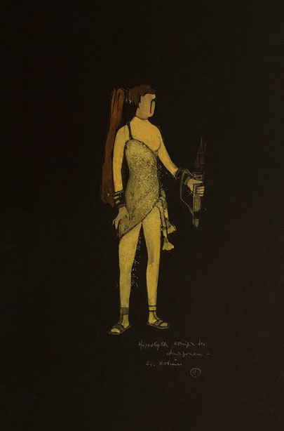 Hippolytem Königin der Amazonen