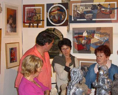 France Salaun, Gilles Brunerie, Marie Christine L'Hostis, Céline Conaté