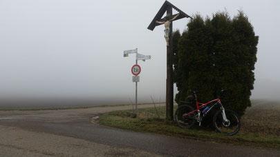 Nebelwand bei den Grossmannhöfen
