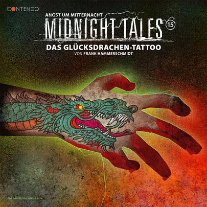 CD-Cover Midnight Tales - Folge 15 - Das Glücksdrachen-Tattoo