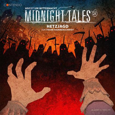 CD-Cover Midnight Tales - Folge 21 - Hetzjagd