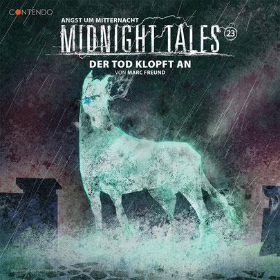 CD-Cover Midnight Tales - Folge 23 - Der Tod klopft an