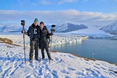 Filmemacher Silke Schranz und Christina Wüstenberg. Foto: comfilm