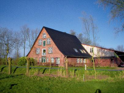 Historisches Niedersachsen-Bauernhaus in Osterbruch