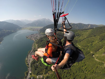 Parapendio a Zell am See