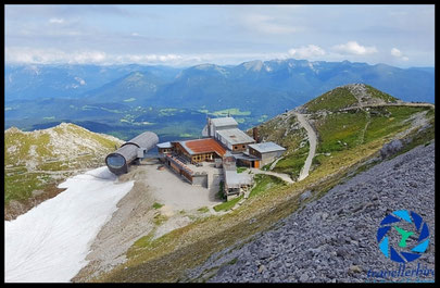 Summit of Mt. Karwendel Cable Car Station