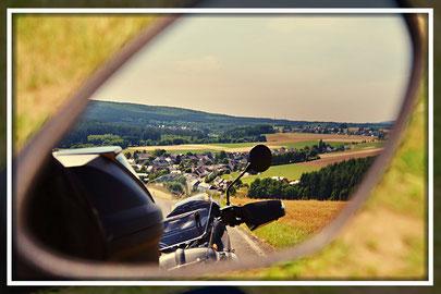 Motorradfahren im Hunsrück