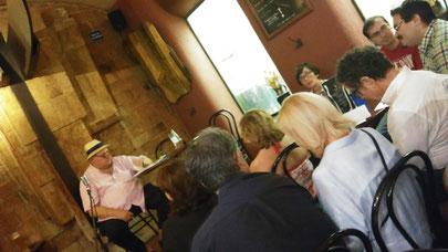 Lluís Urpinell-i-Jovani dóna per començada la <<Llupolia Extraordinària>>