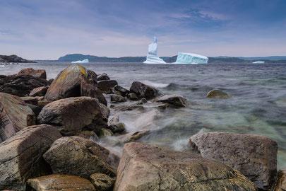 Eisberge vor der Nordküste Neufundlands