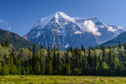 Mount Robson, Blick vom Visitor-Center
