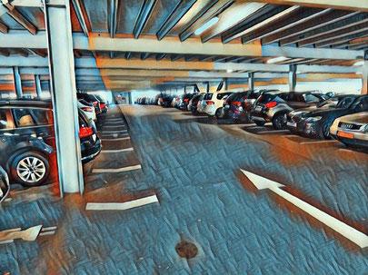parken p1 flughafen zürich
