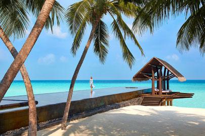Luxus resort malediven Reethi Rah Urlaub Traumurlaub Spa