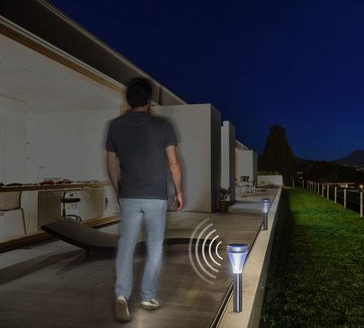 ©Nortene, SENSEIS balise solaire détecteur de présence