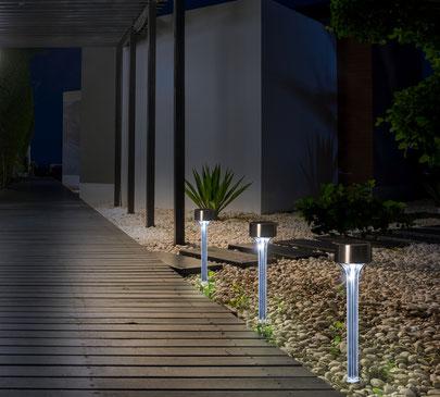 ©Nortene, AMARYS balise solaire à planter