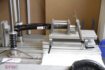 Safety carbon fork - fork stem cut too short