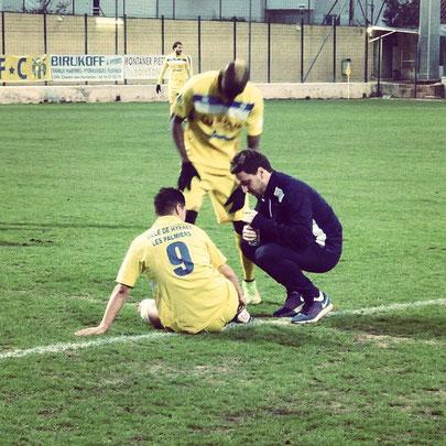 ostéopathe sport soigneur football Hyeres FC