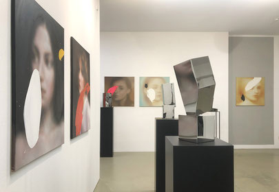 Lena Krashevka, ILLUSION#4, 2020, Oel auf Leinwand, 100 x 80 cm