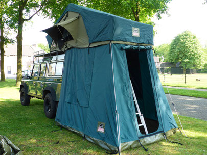 Tembo 4x4 rooftent with anex