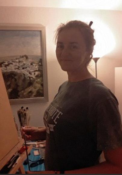 Karina Plachetka, painter