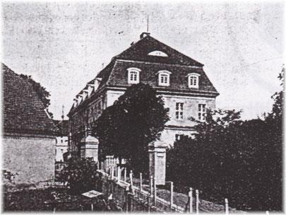 Schloss Straupitz, 1914. (Sammlung Raband&Urspruch)