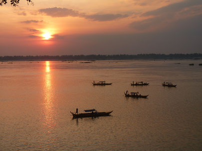 Kratie, Cambodia is the best place to watch the mekong dolphin