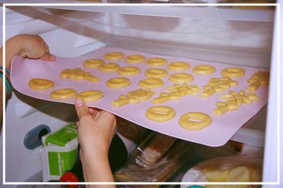 koekjesdeeg in de koelkast