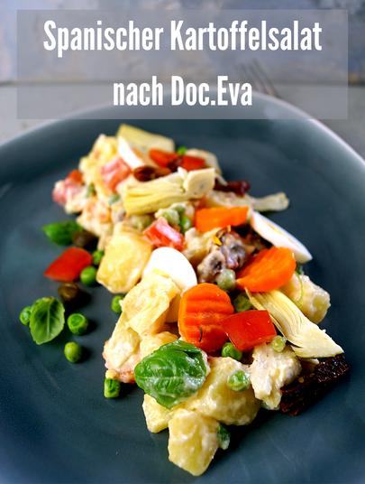 Bunter Kartoffelsalat spanische Art nach einer Idee von Doc.Eva