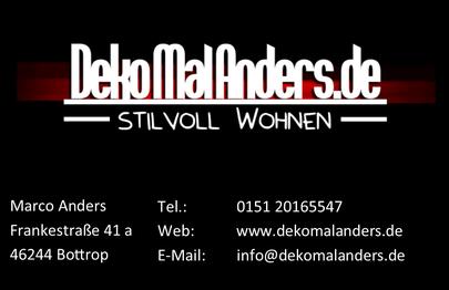 Deko mal Anders Online Shop Kontakt