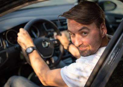 Der Fahrlehrer Tobias Rüegger