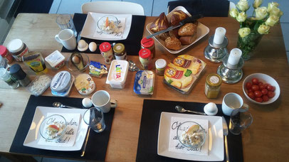 Amazing breakfast a la Alemania